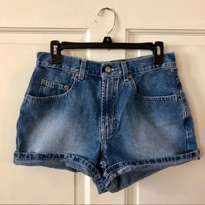 Vintage Denim Shorts - High Rise